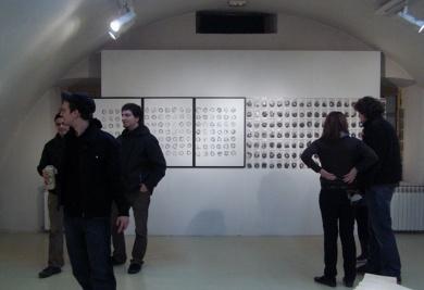 Osijek, Croatia, Gallery Kazamat, HDLU Grafika 1975. – 2009.